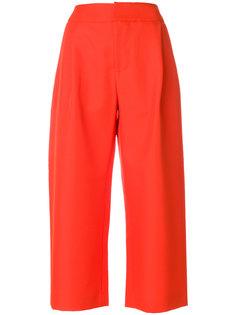 укороченные широкие брюки Marni