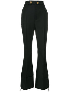 расклешенные брюки с высокой талией Marni