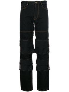 брюки с накладными панелями Y / Project