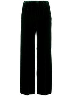 расклешенные бархатные брюки Aspesi