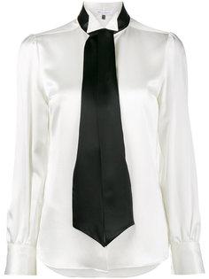 рубашка с завязками на шее Bella Freud