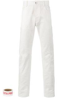 классические джинсовые брюки Raf Simons