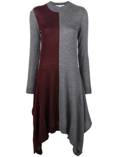 асимметричное платье  Stella McCartney