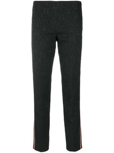 приталенные брюки с полосками по бокам  Pt01