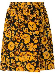 мини-юбка Floral Leaf Kenzo