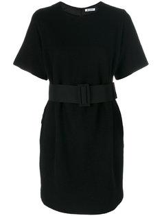 платье с поясом  Dondup