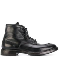 ботинки на шнуровке Premiata