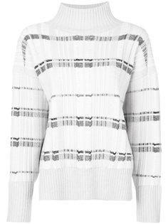 свитер-водолазка в полоску  3.1 Phillip Lim