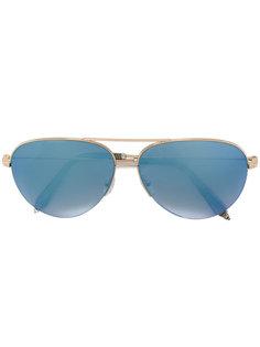 солнцезащитные очки-авиаторы Victoria Beckham