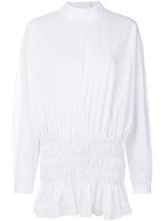 блузка с присборенным подолом Ellery