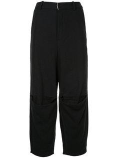 укороченные брюки свободного кроя Aleksandr Manamïs