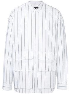 полосатая рубашка мешковатого кроя Juun.J