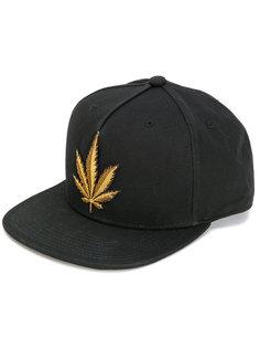 кепка с вышивкой листа Palm Angels