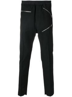 брюки с молниями Les Hommes Urban