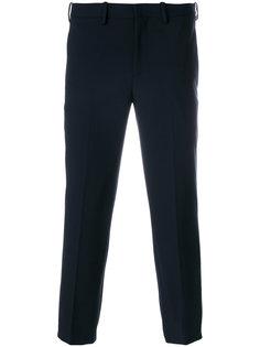 укороченные строгие брюки Neil Barrett