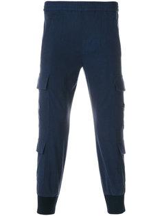 зауженные брюки карго Neil Barrett
