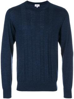 свитер с контрастными полосками Brioni