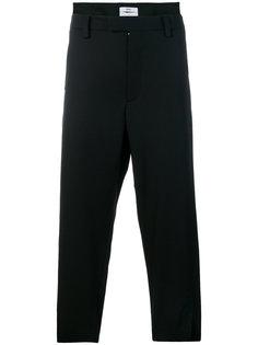 укороченные брюки строгого кроя Oamc