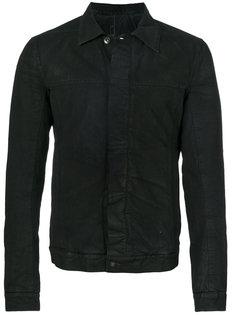джинсовая куртка с выцветшим эффектом Rick Owens DRKSHDW