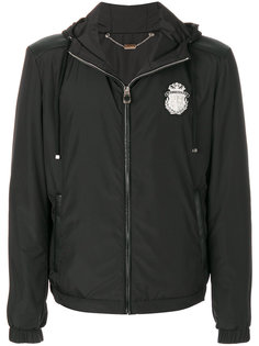 куртка с капюшоном с нашивкой логотипа Billionaire