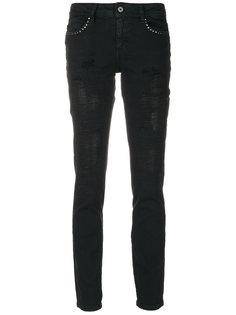 джинсы скинни с заклепками Just Cavalli