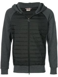 куртка-пуховик с рукавами из джерси Colmar