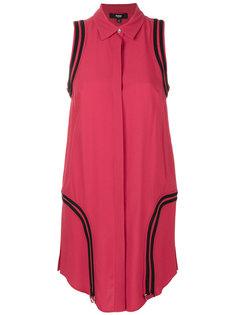 платье-рубашка с отделкой Versus