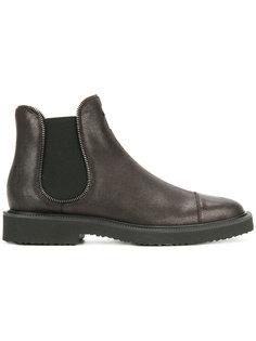 ботинки-челси с отделкой в виде молнии Giuseppe Zanotti Design