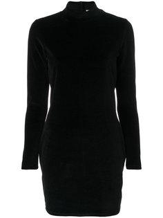 платье мини с высокой горловиной T By Alexander Wang
