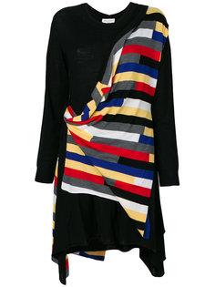 платье-свитер с драпировкой Sonia Rykiel