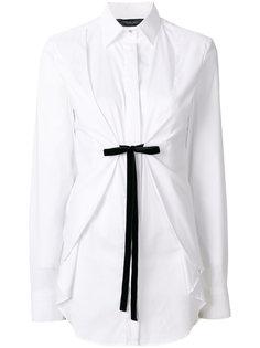 рубашка с завязкой спереди  Federica Tosi