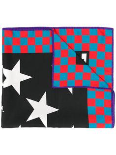 шейный платок с рисунком из звезд MSGM