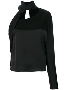 блузка с завязкой на шее Lanvin