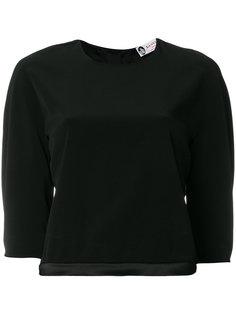 укороченная блузка Lanvin