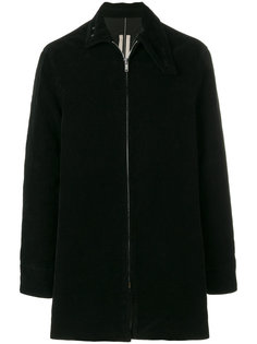 объемное пальто на молнии Rick Owens DRKSHDW