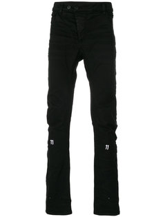 присборенные брюки с эффектом помятости 11 By Boris Bidjan Saberi