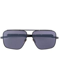 массивные квадратные солнцезащитные очки Jacques Marie Mage