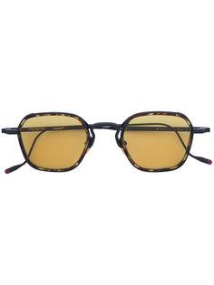 солнцезащитные очки с эффектом черепашьего панциря Jacques Marie Mage