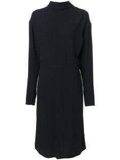 платье-шифт с воротником-хомут Marni