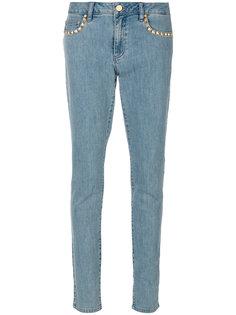 джинсы скинни с заклепками  Michael Michael Kors