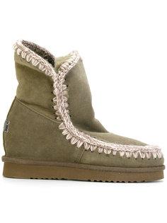 эскимосские ботинки с потайным каблуком Mou