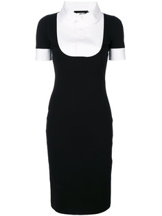приталенное платье-рубашка  Dsquared2