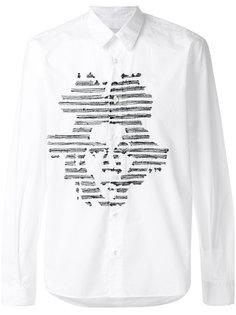 рубашка с вышивкой J.M  Jimi Roos