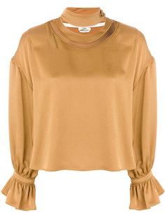 блузка с пышными манжетами Fendi