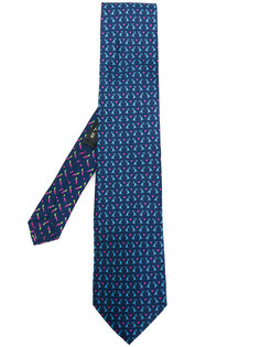 галстук с принтом кроликов Etro