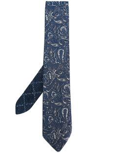 """галстук с вышитым узором """"пейсли"""" Etro"""