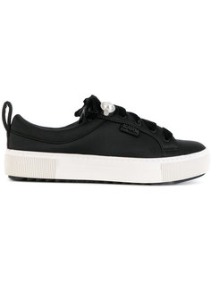 кроссовки на шнуровке Karl Lagerfeld