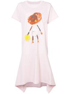 paint print T-shirt dress Tsumori Chisato