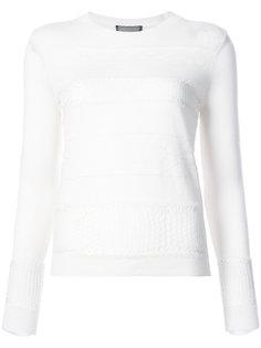 panelled sweater Giambattista Valli