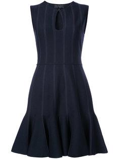 платье клеш с вырезом Giambattista Valli